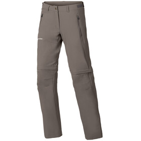 VAUDE Farley Stretch ZO T-Zip Pant Women coconut